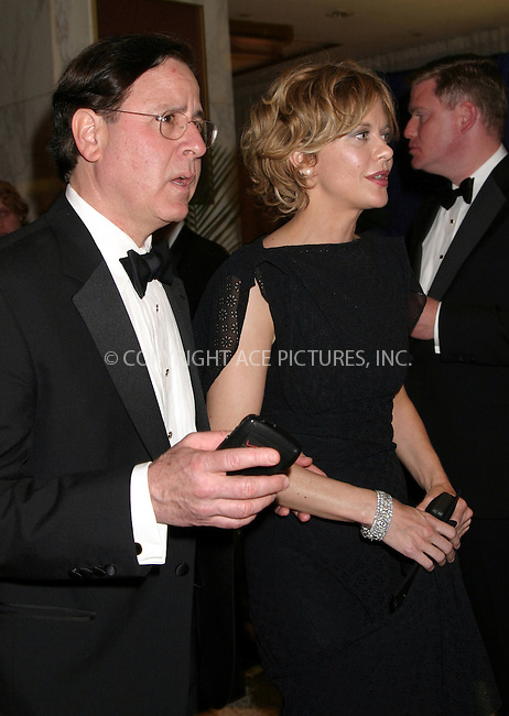 *** NO SALES IN THE U.K.***..Meg Ryan at the 2004 White House Correspondents Association Dinner in Washington, D.C. May 1, 2004. Please byline: CHLOE RED/ACE Pictures.   .. *** ***  ..All Celebrity Entertainment, Inc:  ..contact: Alecsey Boldeskul (646) 267-6913 ..Philip Vaughan (646) 769-0430..e-mail: info@nyphotopress.com