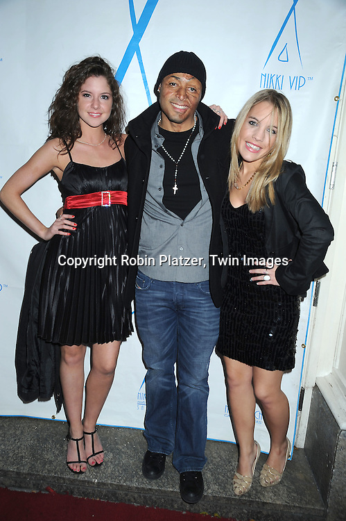 Brittany Underwood, JR Martinez and Kristen Alderson