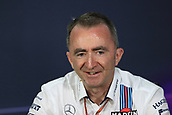 June 9th 2017, Montreal, Canada; Formula 1 Grand prix of Canada, Free practise day during the team management press conference;  Paddy Lowe - Williams