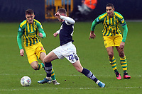Aiden O'Brien of Millwall and Dara O'Shea of West Bromwich Albion during Millwall vs West Bromwich Albion, Sky Bet EFL Championship Football at The Den on 9th February 2020