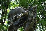 Statue in Historic Sonoma Plaza