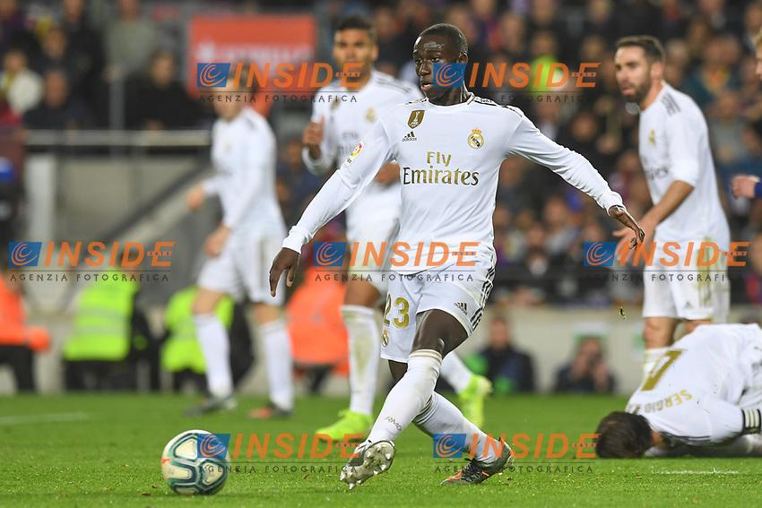 Benjamin Mendy<br /> <br /> <br /> 18/12/2019 <br /> Barcelona - Real Madrid<br /> Calcio La Liga 2019/2020 <br /> Photo Paco Largo Panoramic/insidefoto <br /> ITALY ONLY