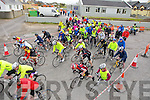 FUNDRAISER: Over 100 took part in the Ballyheigue fund raising 50k cycle fro Ballyheigue Community Centre on Saurday.