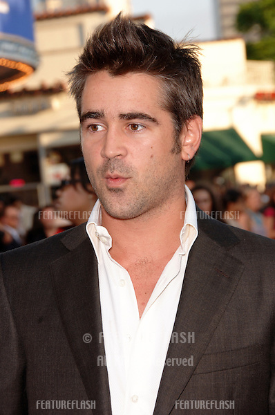 "Actor COLIN FARRELL at the world premiere, in Los Angeles, of his new movie ""Miami Vice."".July 20, 2006  Los Angeles, CA.© 2006 Paul Smith / Featureflash"