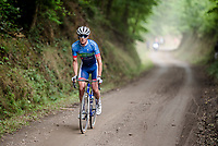 """stranded""<br /> <br /> Dwars door het Hageland 2019 (1.1)<br /> 1 day race from Aarschot to Diest (BEL/204km)<br /> <br /> ©kramon"