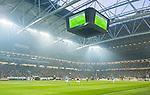 Solna 2015-10-04 Fotboll Allsvenskan AIK - Malm&ouml; FF :  <br /> Vy &ouml;ver Friends Arena med publik p&aring; l&auml;ktarna under matchen mellan AIK och Malm&ouml; FF <br /> (Foto: Kenta J&ouml;nsson) Nyckelord:  AIK Gnaget Friends Arena Allsvenskan Malm&ouml; MFF inomhus interi&ouml;r interior supporter fans publik supporters