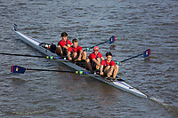 Crew: 280  KCS (E)  King's College School (Martin)  4+ Jun Chall<br /> <br /> Fours Head of the River 2018<br /> <br /> To purchase this photo, or to see pricing information for Prints and Downloads, click the blue 'Add to Cart' button at the top-right of the page.