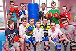 Boxing is the new sport in Kenmare following the formation of a new club which has been inundated with members. .Front L-R David and Sean O'Sullivan, Noah Granville, Joshua Linnane, James Jones, Joe Stoneman and Danny Rawson. .Back L-R Justinas, Zuirblis, Chris O'Sullivan, Andrej Drapak, Kieran O'Sullivan and Will Sheehy.