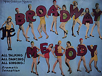 The Broadway Melody (1929) <br /> Lobby card<br /> *Filmstill - Editorial Use Only*<br /> CAP/MFS<br /> Image supplied by Capital Pictures