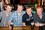 Robert Carberry, Graham Hartnett, Eamonn McQuillan and Sean Carroll in WM Cairnes.<br /> Picture: Shane Maguire / Newsfile.ie