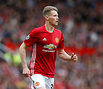 Scott McTominay of Manchester United during the English Premier League match at the Old Trafford Stadium, Manchester. Picture date: May 21st 2017. Pic credit should read: Simon Bellis/Sportimage