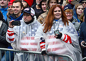Spectators in the Inaugural Parade celebrating the Inauguration of Donald J. Trump as the 45th President of the United States down Pennsylvania Avenue in Washington, DC on Friday, January 20, 2017.<br /> Credit: Ron Sachs / CNP<br /> (RESTRICTION: NO New York or New Jersey Newspapers or newspapers within a 75 mile radius of New York City)