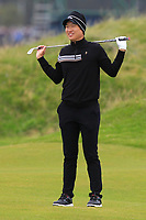 Jeunghun  Wang (KOR) on the 4th during Round 4 of the Alfred Dunhill Links Championship 2019 at St. Andrews Golf CLub, Fife, Scotland. 29/09/2019.<br /> Picture Thos Caffrey / Golffile.ie<br /> <br /> All photo usage must carry mandatory copyright credit (© Golffile | Thos Caffrey)