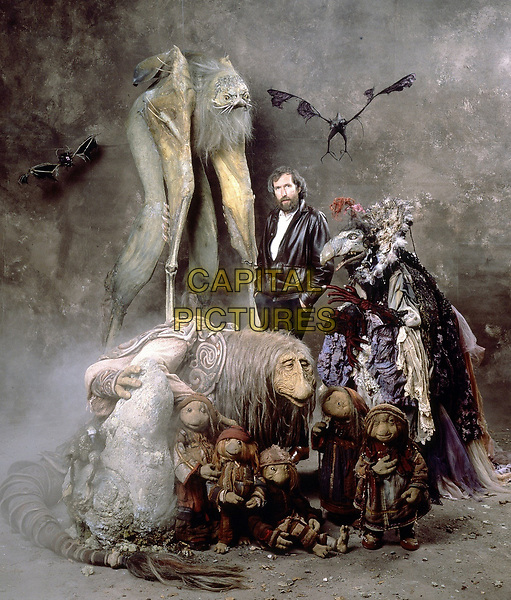The Dark Crystal (1982) <br /> Behind the scenes photo of Jim Henson<br /> *Filmstill - Editorial Use Only*<br /> CAP/KFS<br /> Image supplied by Capital Pictures