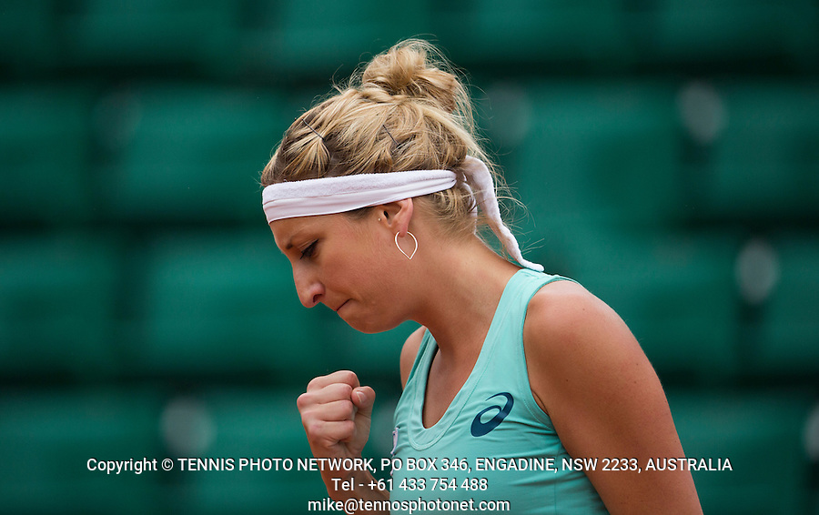 TIMEA BACSINSZKY (SUI)<br /> <br /> TENNIS - FRENCH OPEN - ROLAND GARROS - ATP - WTA - ITF - GRAND SLAM - CHAMPIONSHIPS - PARIS - FRANCE - 2016  <br /> <br /> <br /> <br /> &copy; TENNIS PHOTO NETWORK