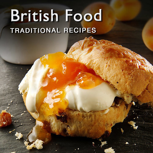 Food pictures & images of prepared British recipe dishes and ingredients
