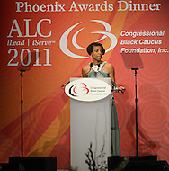 September 24, 2011  (Washington, DC)    Dr. Elsie L. Scott, President & CEO of the Congressional Black Caucus Foundation, at The Phoenix Awards Dinner.  The Phoenix Award is given to individuals that positively impact the African-American experience.  The Dinner concluded a week-long series of activities and panel discussions during the 41st Annual Legislative Conference of the Congressional Black Caucus Foundation.   (Photo by Don Baxter/Media Images International)