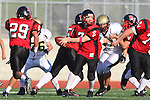 Palos Verdes, CA 11/10/10 - Bryan Scott (Palos Verdes # 7) in action during the junior varsity football game between Peninsula and Palos Verdes at Palos Verdes High School.