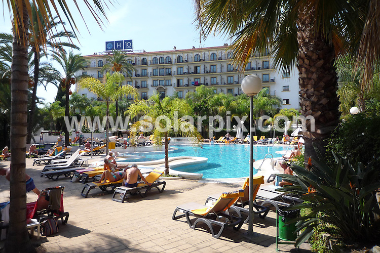**ALL ROUND PICTURES FROM SOLARPIX.COM**.**WORLDWIDE SYNDICATION RIGHTS**.Marbella GVs..This pic: H10 Andalucia Plaza Hotel near Puerto Banus..JOB REF: 7863    AB1       DATE: 12.10.08.**MUST CREDIT SOLARPIX.COM OR DOUBLE FEE WILL BE CHARGED* *UNDER NO CIRCUMSTANCES IS THIS IMAGE TO BE REPRODUCED FOR ANY ONLINE EDITION WITHOUT PRIOR PERMISSION*