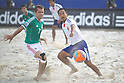 (L-R) Antonio Barbosa (MEX), Hirofumi Oda (JPN), SEPTEMBER 02, 2011 - Beach Soccer : FIFA Beach Soccer World Cup Ravenna-Italy 2011 Group D match between Japan 2-3 Mexico at Stadio del Mare, Marina di Ravenna, Italy, (Photo by Enrico Calderoni/AFLO SPORT) [0391]