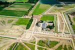 Nederland, Gelderland, Bemmel, 26-06-2014; Landschapstriennale Lingezegen, lokatie<br /> 'Bruispunt de Park'.<br /> Location landscape triennale.<br /> luchtfoto (toeslag op standaard tarieven);<br /> aerial photo (additional fee required);<br /> copyright foto/photo Siebe Swart.