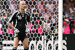 09 July 2006: Goalkeeper Fabien Barthez (FRA). Italy tied France 1-1 in overtime at the Olympiastadion in Berlin, Germany in match 64, the championship game, of the 2006 FIFA World Cup Finals. Italy won the World Cup by defeating France 5-3 on penalty kicks.