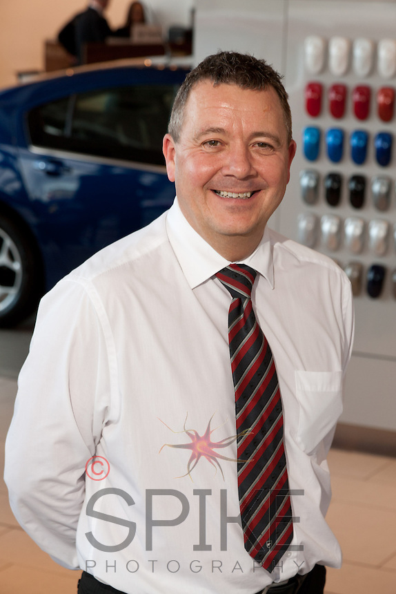 Andrew Court, Used Car Sales Manager at Bristol Street Motors Vauxhall Dealership at Chesterfield