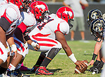 Palos Verdes, CA 10/09/15 - Christian Willis (Morningside #51) in action during the Morningside - Peninsula varsity football game.  Morning side defeated Peninsula 24-21.