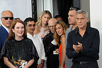 U.S. actress Julienne Moore, left, and director George Clooney attend a photo call for the movie 'Suburbicon' at the 74th Venice Film Festival, Venice Lido, September 2, 2017. <br /> UPDATE IMAGES PRESS/Marilla Sicilia<br /> <br /> *** ONLY FRANCE AND GERMANY SALES ***