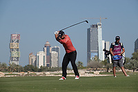 Andy Sullivan (ENG) in action during the final round of the Commercial Bank Qatar Masters, Doha Golf Club, Doha, Qatar. 10/03/2019<br /> Picture: Golffile | Phil Inglis<br /> <br /> <br /> All photo usage must carry mandatory copyright credit (&copy; Golffile | Phil Inglis)