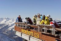 Gipfelstation des Nebelhorn bei  Oberstdorf im Allgäu, Bayern, Deutschland<br /> top station of  Mt.Nebelhorn near Oberstdorf, Allgäu, Bavaria, Germany