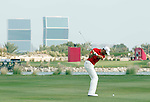 Alvaro Quiros (ESP) in action during the final round of .the Commercialbank Qatar Masters presented by Dolphin Energy played at Doha Golf Club, Doha, Qatar on 4th February 2011..Picture: Phil Inglis / www.golffile.ie.