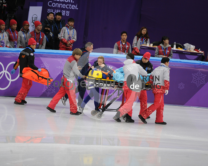 OLYMPIC GAMES: PYEONGCHANG: 17-02-2018, Gangneung Ice Arena, Short Track, 1500m Ladies, Elise Christie (GBR), ©photo Martin de Jong