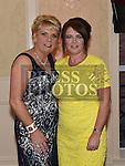 Annmarie Cudden celebrating her 50th birthday in the Westcourt hotel with best friend Yvonne Powderly. Photo:Colin Bell/pressphotos.ie