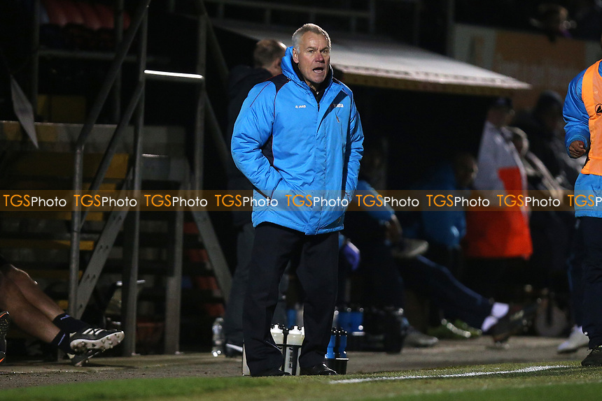 Dagenham manager Peter Taylor during Dagenham & Redbridge vs Boreham Wood, Vanarama National League Football at the Chigwell Construction Stadium on 5th January 2019
