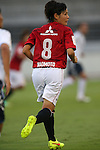 Hikaru Naomoto (Reds Ladies),<br /> AUGUST 17,2014 - Football / Soccer : 2014 Nadeshiko League, between Urawa Reds Ladies 0-1 INAC KOBE LEONESSA at Urawakomaba Stadium, Saitama, Japan. (Photo by Jun Tsukida/AFLO SPORT)