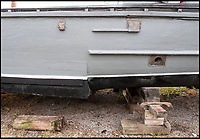 BNPS.co.uk (01202 558833)<br /> Pic: PhilYeomans/BNPS.<br /> <br /> A stepped hull developed from pre-war racing boats gave the sleek craft outstanding speed through the water.<br /> <br /> The world's first drone boat is rediscovered - after 100 years in the shadows.<br /> <br /> A historic British torpedo boat, which was converted into the world's first remotely controlled 'drone vessel' as part of a top secret project at the end of the Great War has been painstakingly researched and restored after being discovered rotting in a West country boatyard.<br /> <br /> The pioneering CMB9/DCB1 was one of 12 Coastal Motor Boats (CMBs) built by the Admiralty in 1916 to target German destroyers.<br /> <br /> The fast, lightweight 40ft motor torpedo boat, which could travel at 40 knots, sunk the German destroyer G88 off Zebrugge in Belgium in 1917.<br /> <br /> Subsequently, it was one of four vessels converted into Distance Control Boats (DCBs) for top secret trials to see if unmanned patrol boats with torpedoes could be radio controlled via aircraft and directed towards enemy targets.<br /> <br /> The boat was found in a sorry state covered in brambles in a boat yard in Weston-super-Mare, Somerset, by marine surveyor Robert Morley a decade ago, who has spent tens of thousands of pounds restoring and researching it's colourful history.