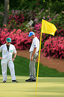 Matt Kucher (USA) on the 13th green during the 1st round at the The Masters , Augusta National, Augusta, Georgia, USA. 11/04/2019.<br /> Picture Fran Caffrey / Golffile.ie<br /> <br /> All photo usage must carry mandatory copyright credit (© Golffile | Fran Caffrey)