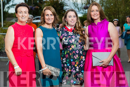 Siobhan Lynch,  Assumpta Nolan and Catriona Fealy (all Tralee) with Christina Fealy (Abbeydorney) at the Rose of Tralee fashion show at the dome on Sunday night.