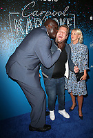 07 August 2017 - West Hollywood, California - Shaquille O'Neal, James Corden, Julia Carey. 'Carpool Karaoke: The Series' On Apple Music Launch Party held at Chateau Marmont. <br /> CAP/ADM/FS<br /> &copy;FS/ADM/Capital Pictures
