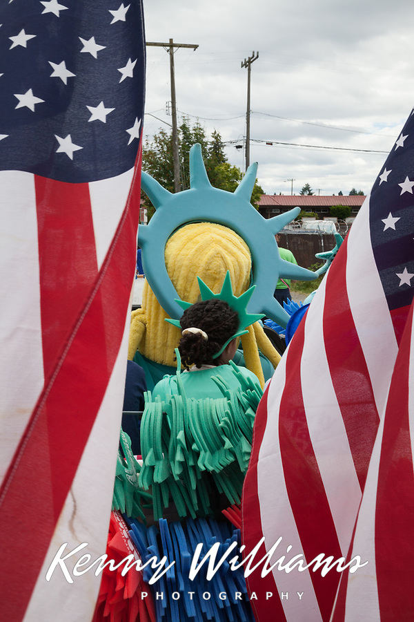 Independence Day Parade 2016, Burien, Washington, USA.