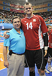 November 18 2011 - Guadalajara, Mexico:  Canada taking on Columbia in the Bronze Medal Game in the Pan American Volleyball Complex at the 2011 Parapan American Games in Guadalajara, Mexico.  Photos: Matthew Murnaghan/Canadian Paralympic Committee