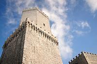 Erice: Torri del Balio <br /> erice: Del Balio towers