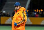 AMSTELVEEN - bondscoach Max Caldas (Ned)  voor    de hockeyinterland Nederland-Ierland (7-1) , naar aanloop van het WK hockey in India.  COPYRIGHT KOEN SUYK