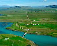 Hvítárvellir sæéð til austurs, Borgarbyggð áður Andakílshreppur / Hvitarvellir viewing east, Borgarbyggd former Andakilshreppur.