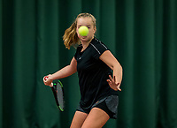 Wateringen, The Netherlands, November 27 2019, De Rhijenhof , NOJK 12/16 years, Britt Du Pree (NED)<br /> Photo: www.tennisimages.com/Henk Koster