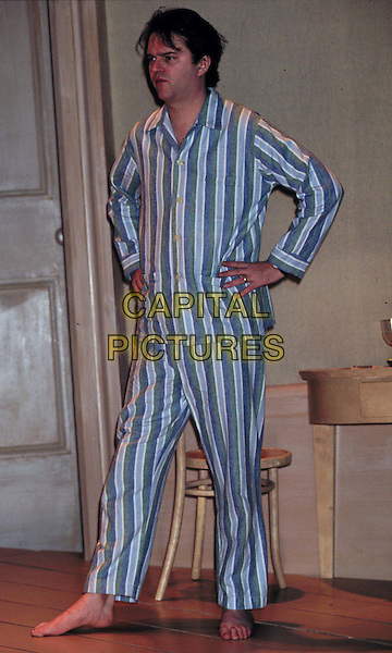 PAUL MERTON.Ref: 948.pyjamas, full length, full-length.*RAW SCAN - photo will be adjusted for publication*.www.capitalpictures.com.sales@capitalpictures.com.© Capital Pictures
