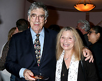 LOS ANGELES - AUG 21:  Elliott Gould, Roslyn Kind at the Barbara Eden Tribute Exhibition Opening Night at the Hollywood Museum on August 21, 2019 in Los Angeles, CA