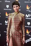 Ursula Corbero attends red carpet of Feroz Awards 2018 at Magarinos Complex in Madrid, Spain. January 22, 2018. (ALTERPHOTOS/Borja B.Hojas)