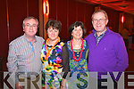 Pictured at Elvis concert at the INEC, Killarney, on Saturday were l-r: Paddy Joyce, Bernadette Joyce, Jeanette Dooley and Christy Dooley..